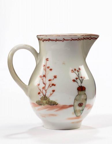 Seven 18th century sparrow beak jugs