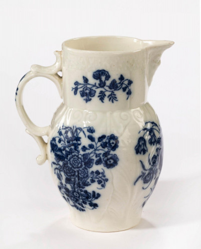 18th Century Caughley Porcelain Jug