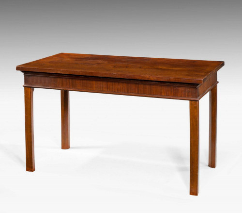Chippendale Period Mahogany Serving Table.
