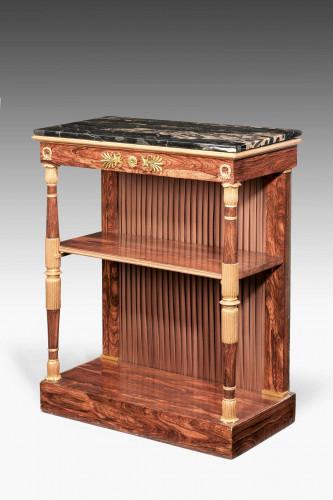 Regency Period Rosewood Gilt Side Cabinet