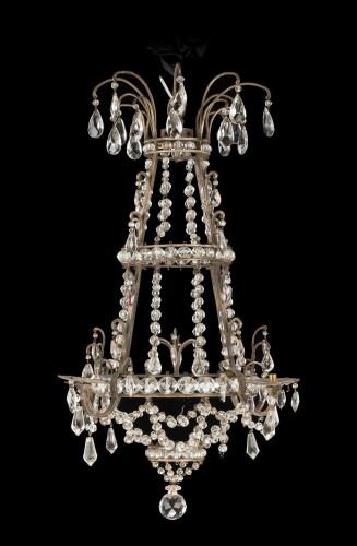 19th Century Gilt Bronze Chandelier