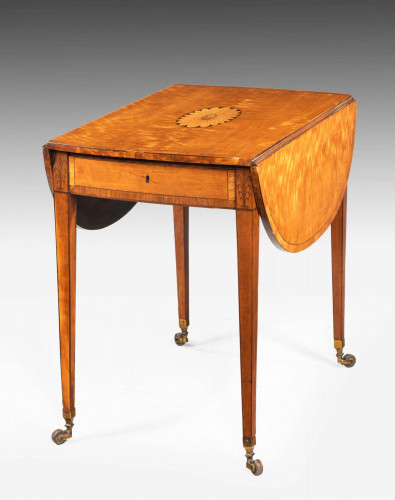 Late 18th Century Satinwood Pembroke Table