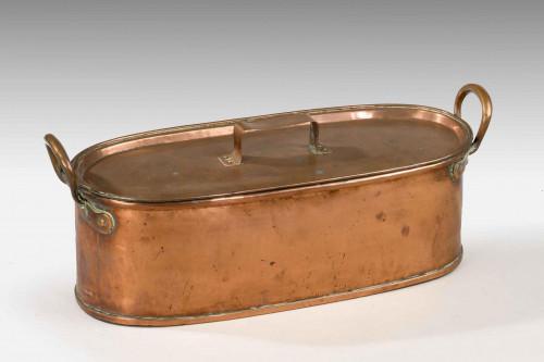 George III Period Salmon Kettle