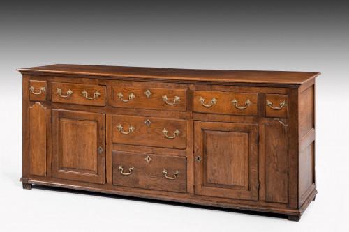 Mid-18th Century Oak Dresser Base