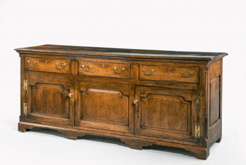 A Fine Mid-18th Century Oak Dresser Base