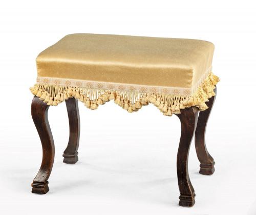 Late 19th Century Walnut Footstool