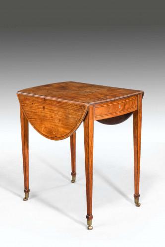 18th Century Kingwood Pembroke Table
