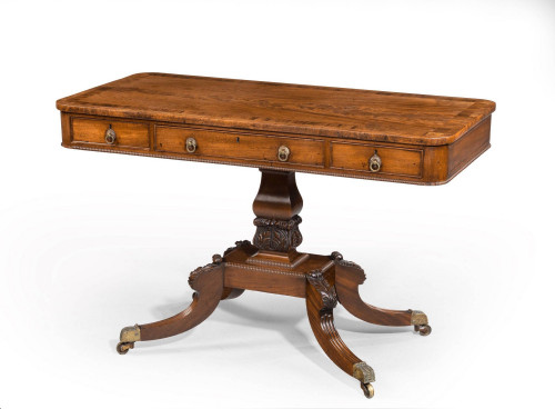 Regency Period Mahogany Centre Standing Table