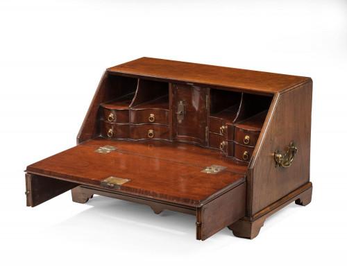 A Rare George III Period Mahogany Table Bureau