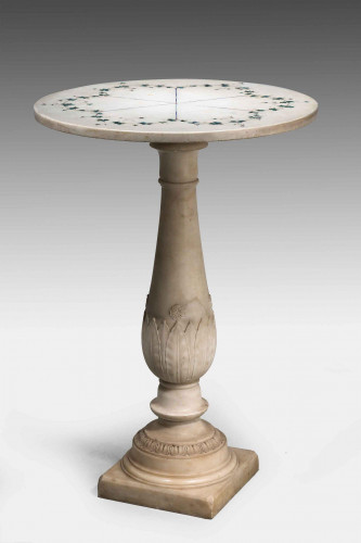 18th Century Carrara Marble Table