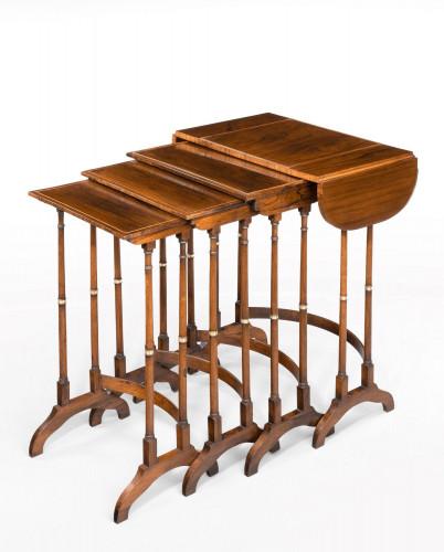 A Quartetto of Regency Period Tables