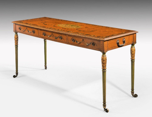 An Unusual 19th Century Satinwood Centre Table