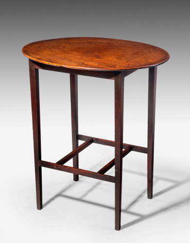 George III Period Mahogany Occasional Table