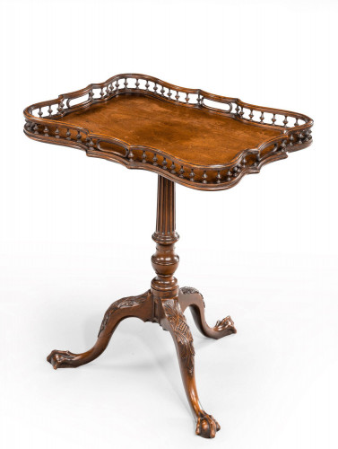 A Chippendale Period Tripod Table