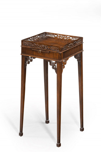 George III Period Kettle Stand in the Chippendale Manner