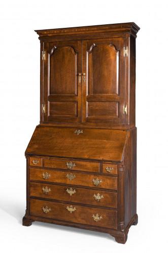 Late Eighteenth Century Oak Bureau Cabinet