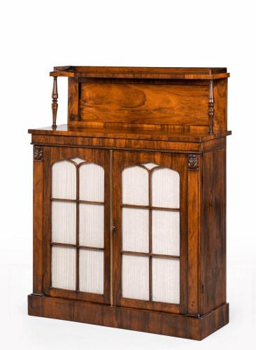 An Attractive Regency Period Two-Door Chiffonier