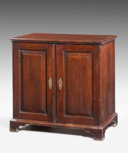 George II Period Walnut Dwarf Cabinet