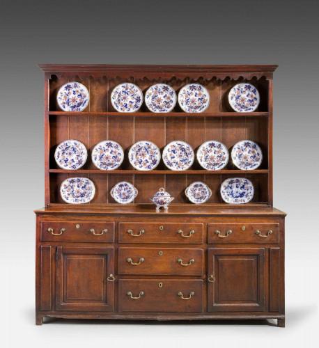 Late 18th Century Oak Dresser and Rack