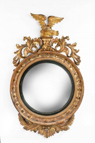 A Regency Period Convex Circular Mirror