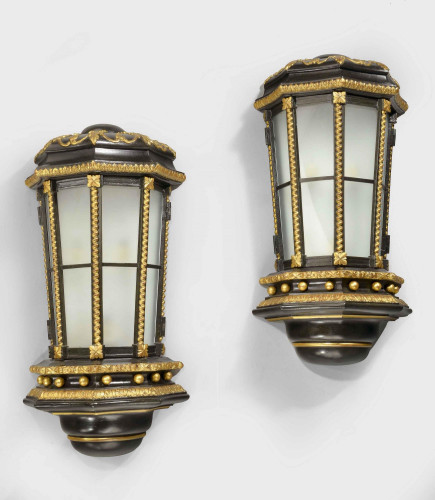 An Exceptional Pair of Late 19th Century Wall Lights