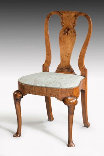 Queen Anne Period Walnut Single Chair