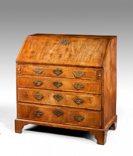 George II Period Walnut Bureau