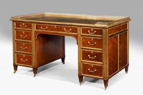 19th Century Gillows Pedestal Desk