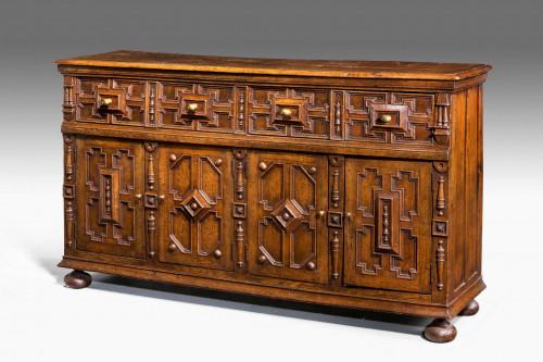 Late 19th Century Oak Dresser Base