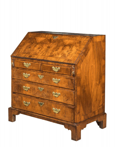 Mid 18th Century Walnut Bureau of Exceptional Colour and Patina