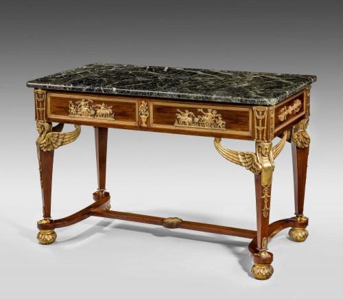 A French 19th Century Mahogany Centre Table