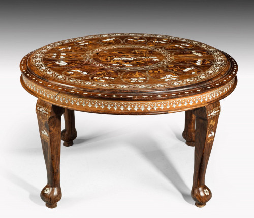A Quite Extraordinary Late 19th Century Eastern Table