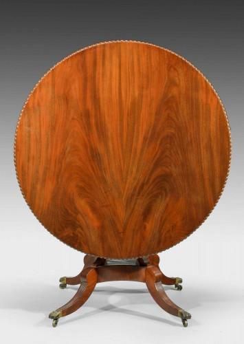 A Regency Period Mahogany Circular Table