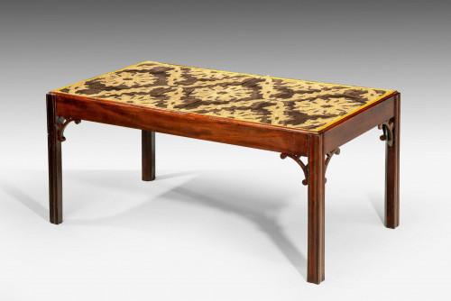 Late 18th Century Custom Built Mahogany Low Table
