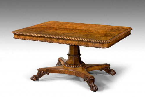 Early 19th Century Rectangular Table by Gillows of Lancaster