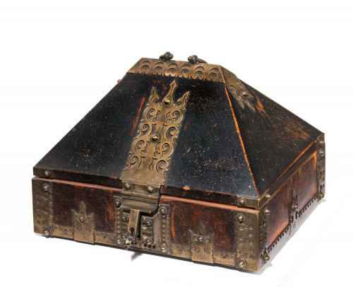 Early 19th Century Domed Top Eastern Spice Box
