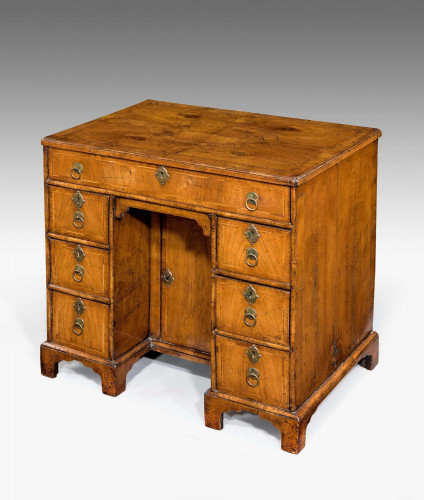George II Period Walnut Kneehole Desk
