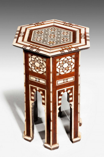 Late 19th Century Hexagonal Occasional Table