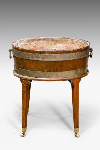 George III Period Wine Cooler on a High Stand