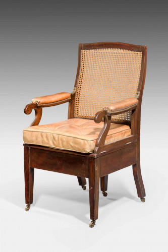 Late 19th Century Metamorphic Commode Armchair