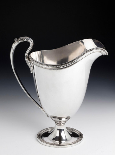 A Fine Quality, Modern, American, Silver Plated Beer or Water Jug
