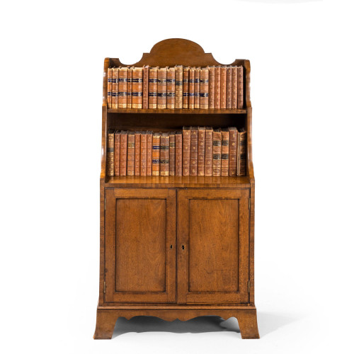 A Small Regency Period Two Door Cupboard