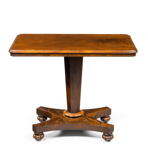 A Late Regency Period Centre Standing Occasional Table