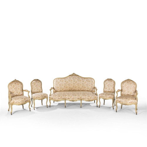 A Good Quality Late 19th Century French Salon Suite