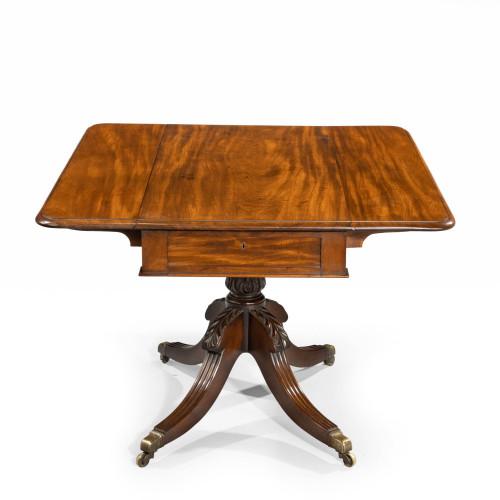 A Regency Period Mahogany Pembroke Table