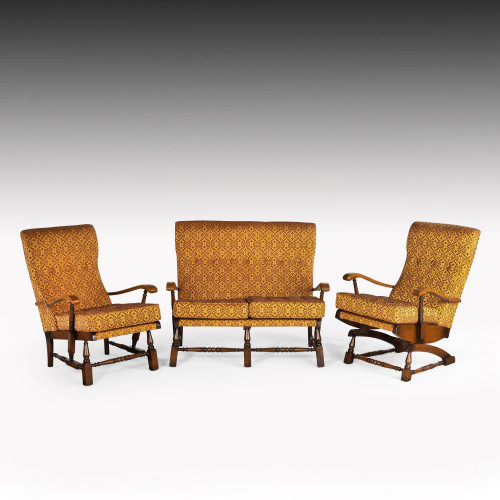 A Charming Mid 20th Century Three Piece Cottage Suite