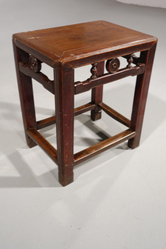 A Well Carved Early 20th Century Small Stool or Table