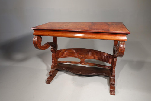 An Early 19th Century Well Figured Pier or Hall Table