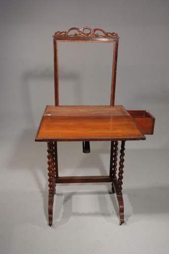A Highly Complex Late 19th Century Ladies Screen / Writing Table