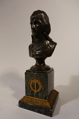A Finely Cast and Patinated Early 19th Century Figure of Napoleon